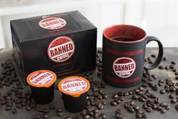 Banned Coffee K-Cups    (24 Capsules)